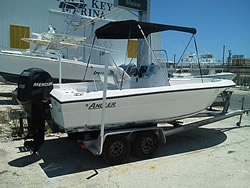 20' Angler w/150 HP Mercury